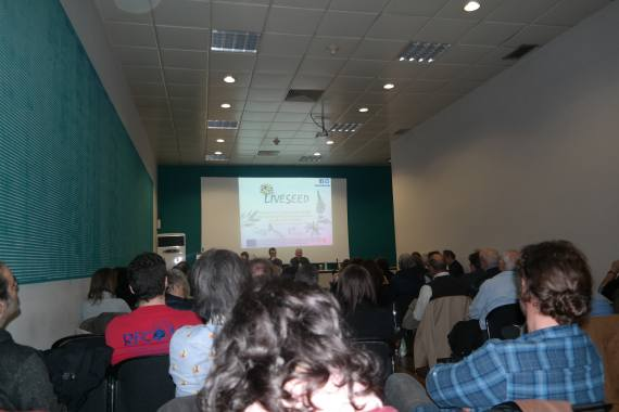 "Photos and presentations from the Workshop ""The present and future of Organic Seeds in Greece and Europe"" AGROTICA 2018"